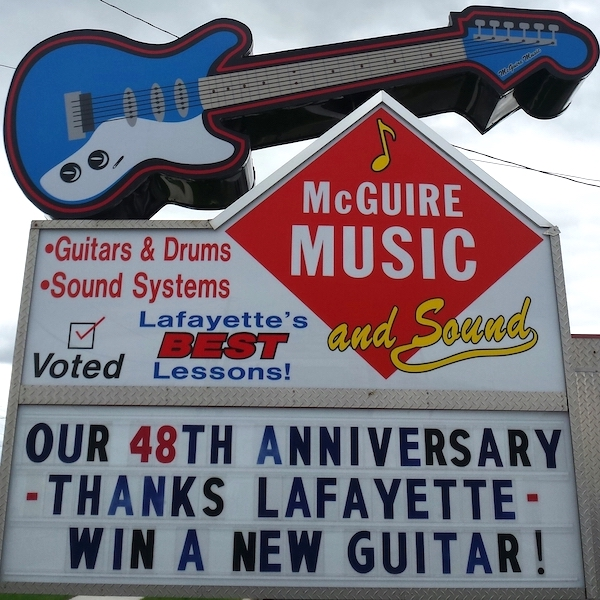 McGuire Music is celebrating its 48th anniversary