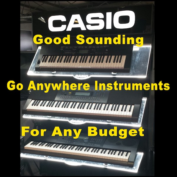 McGuire sells Casio keyboards