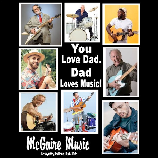 You love dad. Dad loves music!