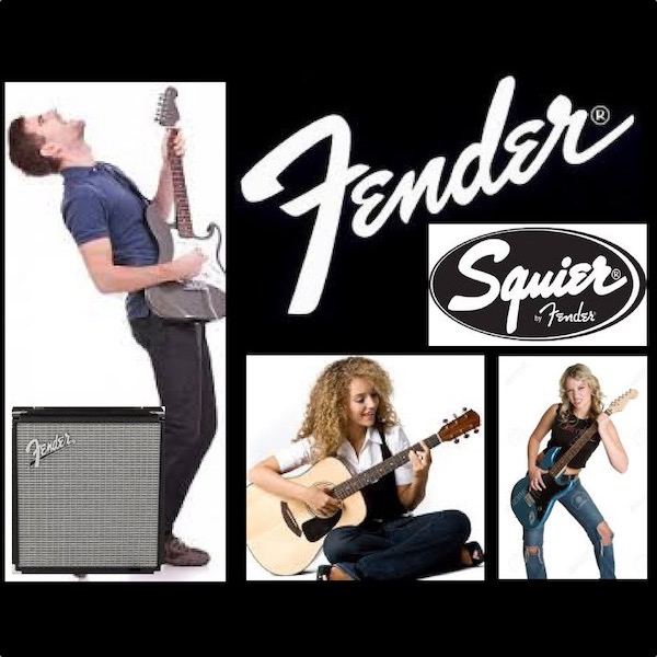 Come in to the McGuire Music Fender sale