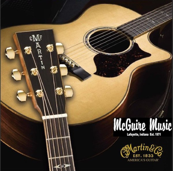 we have new Martin guitars in stock